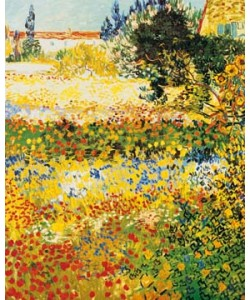 Vincent van Gogh, Blumengarten