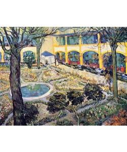 Vincent van Gogh, Der Garten des Maison de Sant