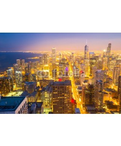 vichie81, Chicago City downtown aerial