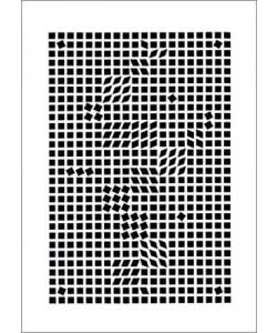 Victor Vasarely, Tlinko, 1955 (Büttenpapier)