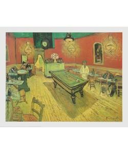 Vincent van Gogh, Cafe am Abend mit Billard