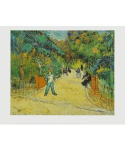 Vincent van Gogh, Eingang zum Park in Arles