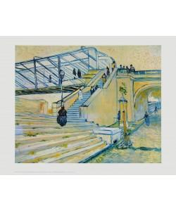 Vincent van Gogh, Eisenbahnbrücke (Le Pont de Trinquetaille)