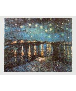 Vincent van Gogh, Sterne über der Rhone, 1888