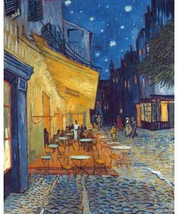 Vincent van Gogh, Caf-Terrasse am Abend