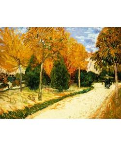 Vincent van Gogh, Park im Herbst