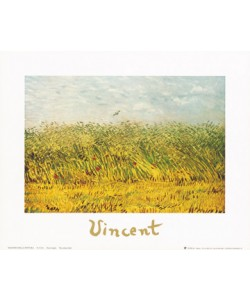 Vincent van Gogh, The wheat field