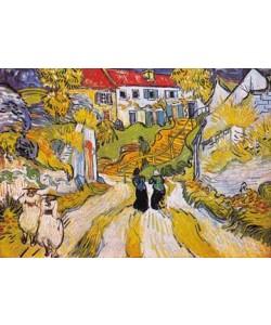 Vincent van Gogh, Weg und Treppe in Auvers