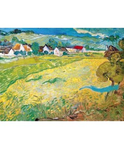 Vincent van Gogh, Sonnige Wiese bei Auvers