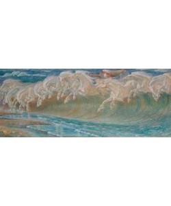 Walter Crane, Die Rosse des Neptun