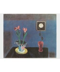 Walter Gramatté, Stilleben mit Uhr