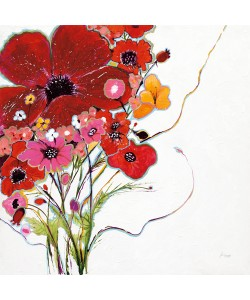 Jan Griggs, Crazy Daisy on White