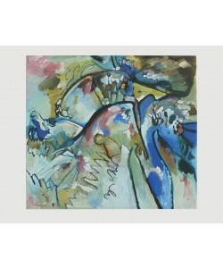 Wassily Kandinsky, Improvisation 21 A, 1911 (Granolitho-Druck)