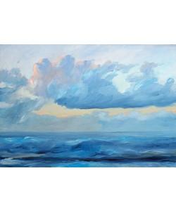 Werner Maier, Abendstimmung am Meer