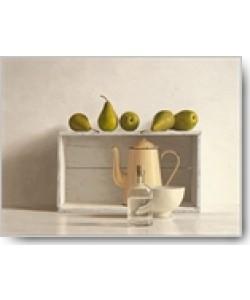 Willem de Bont, Five Pears on Box