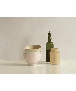 Willem de Bont, Stacked Bowls, Bottle and little Jar