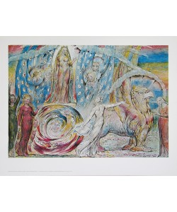 William Blake, Beatrice wendet sich an Dante