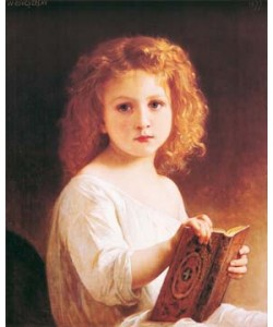 William Adolphe Bouguereau, The story book