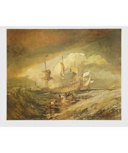 William Turner, Schiffe am Anker, 1804