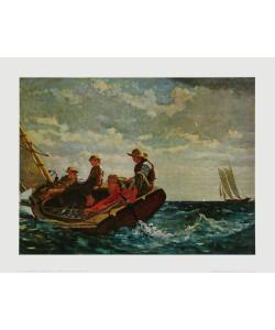 Winslow Homer, Der Wind frischt auf, 1876
