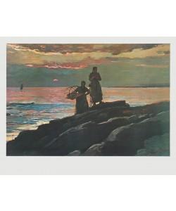 Winslow Homer, Sonnenuntergang an der Saco Bay, 1896