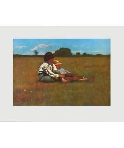 Winslow Homer, Zwei Jungen auf einer Weide