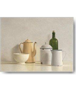 Willem de Bont, Still Life with yellow Coffeepot