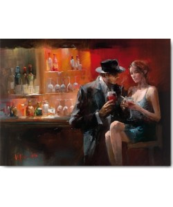 Willem Haenraets, Evening in the Bar I