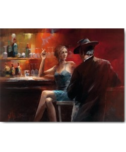 Willem Haenraets, Evening in the Bar II