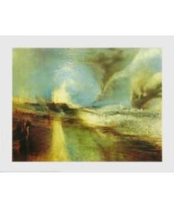 William Turner, Feuerwerk und blauer Lichtschein