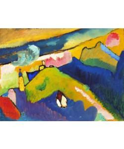 Wassily Kandinsky, Murnau, Berglandschaft
