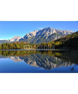 World travel images, Lauterssee Mittenwald Karwendelblick