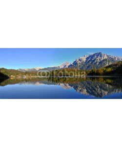 World travel images, Mittenwald Lauterssee Karwendelblick