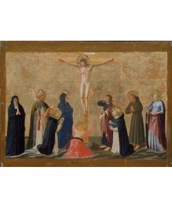 Fra Angelico, The Crucifixion, c.1440 (tempera to canvas laid on wood)