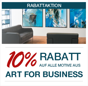 10% auf alle Bilder aus Art for Business